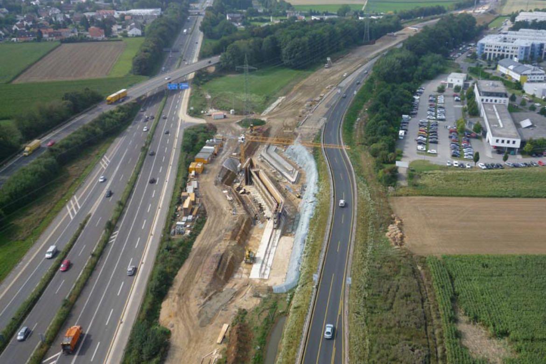September 2013 – Brückenneubau Bauwerk 709