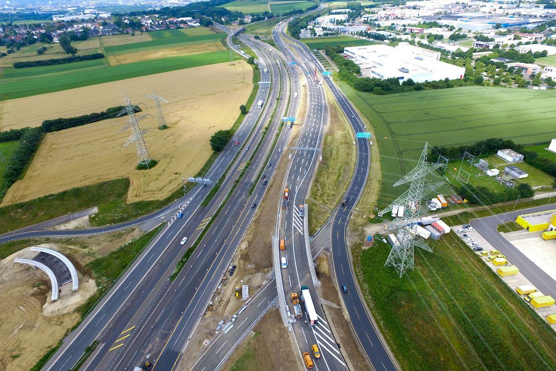 Juni 2016 – Bauphase 4 Brücke vor der Inbetriebnahme