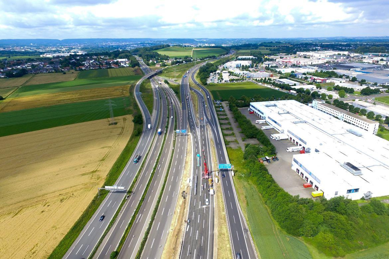 Juni 2016 – Bauphase 4 Richtung Niederlande und Europaplatz