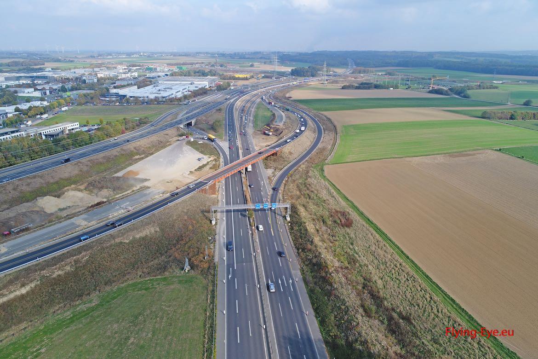 Behelfsbrücke A4 NL Köln in Betrieb